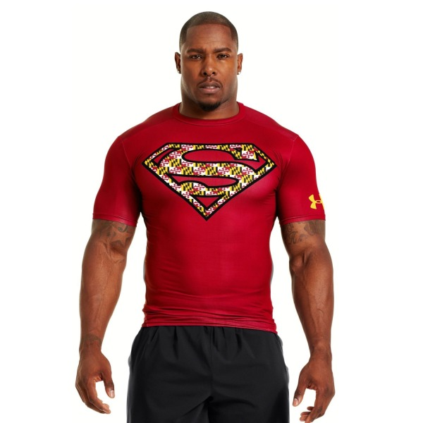 Under Armour Men's Under Armour® Alter Ego Compression Shirt Extra Large University Red