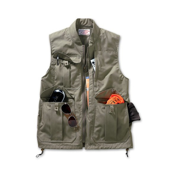 Filson Vest Outerwear Vests Green