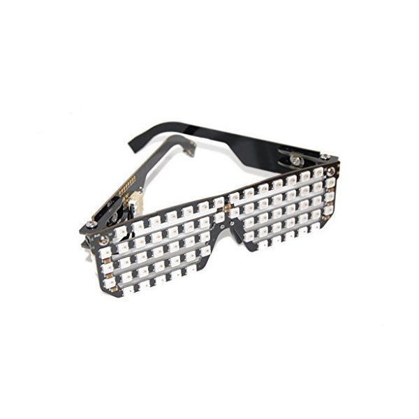 Future Shades - RGB LED Glasses with USB Battery pack