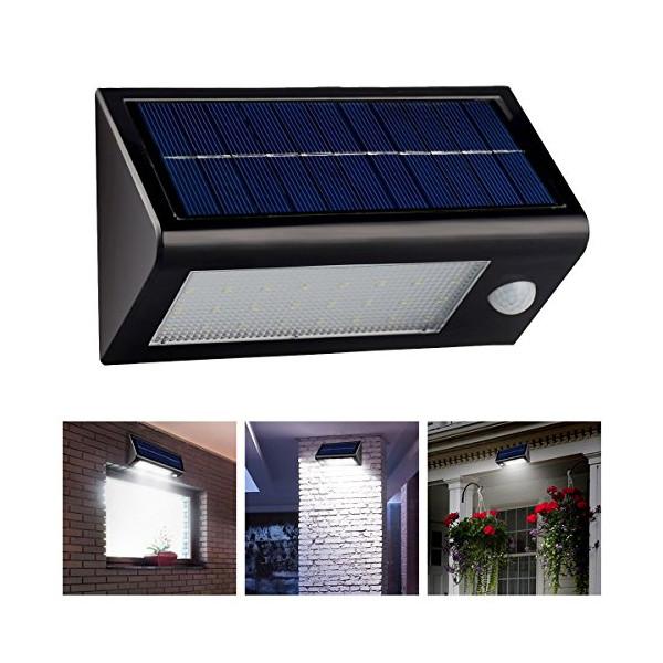 InnoGear® Waterproof IP65 Solar Powered Staircase Stair Step Light 32 LED Stairway Path Landscape Garden Floor Wall Patio Lighting Lamp