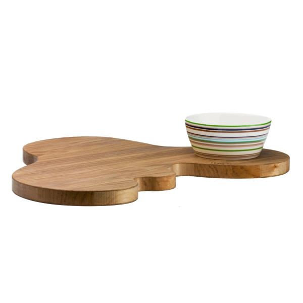 Iittala Aalto Serving Platter, Oak, 17 x 14-Inches