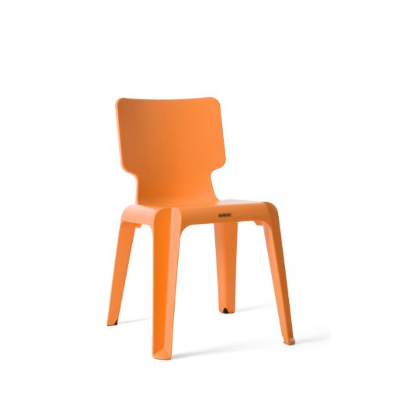 Authentics Wait Plastic Chair orange