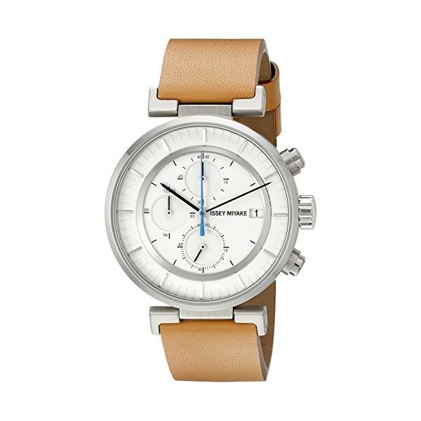 ISSEY MIYAKE Men's SILAY008 W Analog Display Quartz Brown Watch