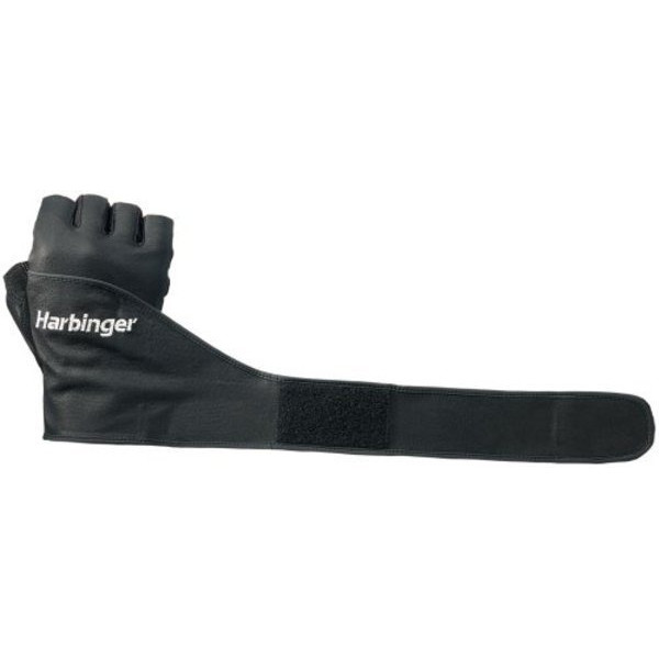 Harbinger 130 Classic WristWrap Glove (Black)