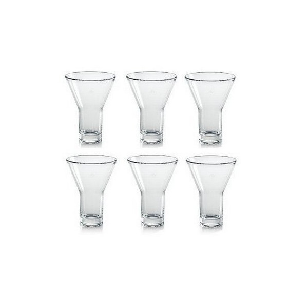 Illy 7217 clear Freddo 5-ounce glasses, set of 6.