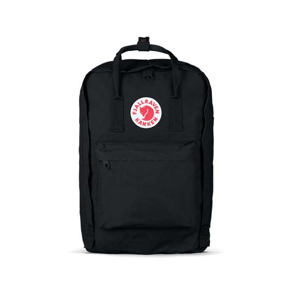 Fjallraven Kanken Laptop Backpack, Black, 15-Inch