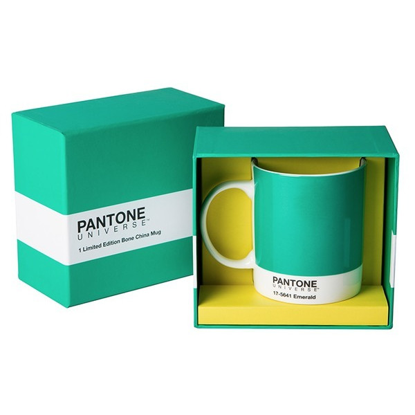 Pantone Universe Mug, Emerald Green