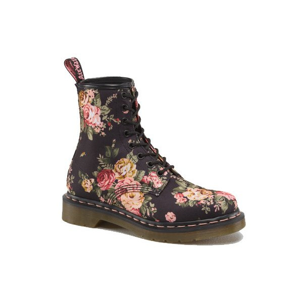 Dr. Martens Women's Re-Invented Victorian Print Lace Up Boot