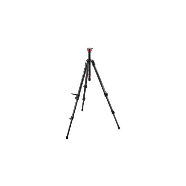Manfrotto 755CX3 MDEVE 50mm Half Ball Carbon Fiber Tripod with Center Column (Black)