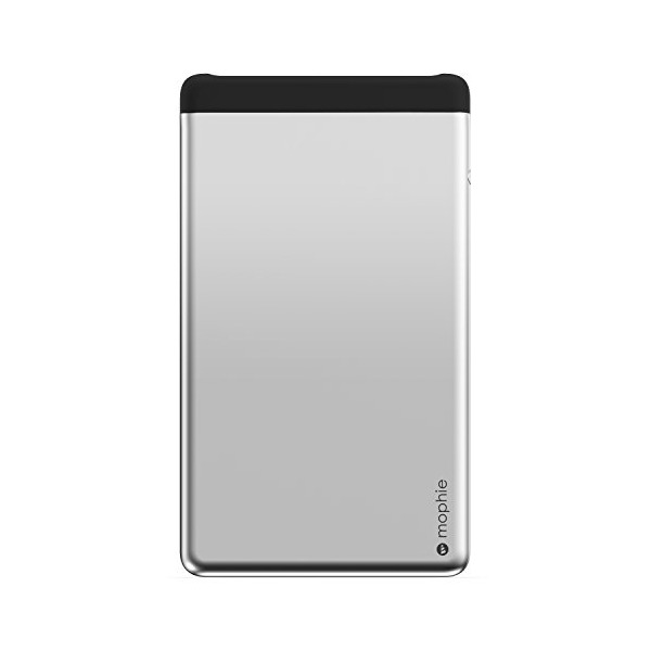 mophie Powerstation 8X Dual USB External Battery for Smartphones and Tablets (15,000 mAh) - Aluminum