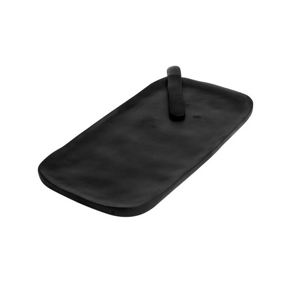 Small Grey Serving Board with Cheese Spreader