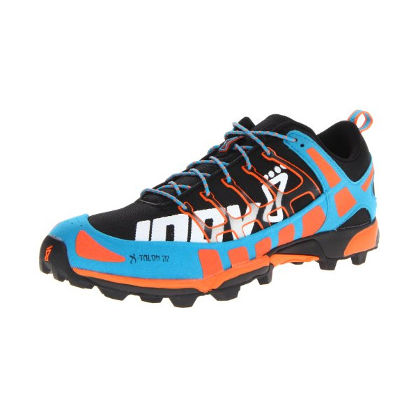 Inov-8 X-Talon™ 212 Trail Running Shoe,Black/Orange/Blue,9.5 M US