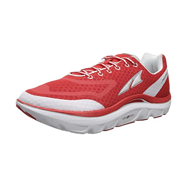 Altra Men's Paradigm Max Cushion Running Shoe,Fiery Red/White,11.5 M US