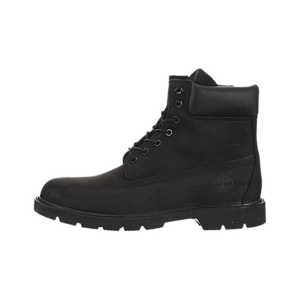 Timberland Men's 6 inch Basic Bt Black Boot 10.5 Men US