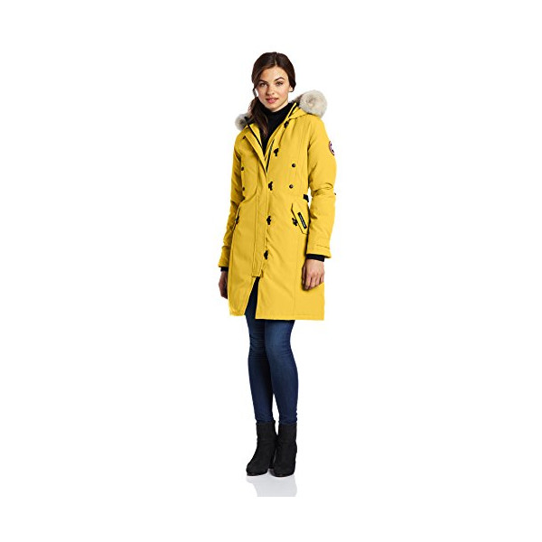 Canada Goose Women's Kensington Parka, Summer Light, Medium