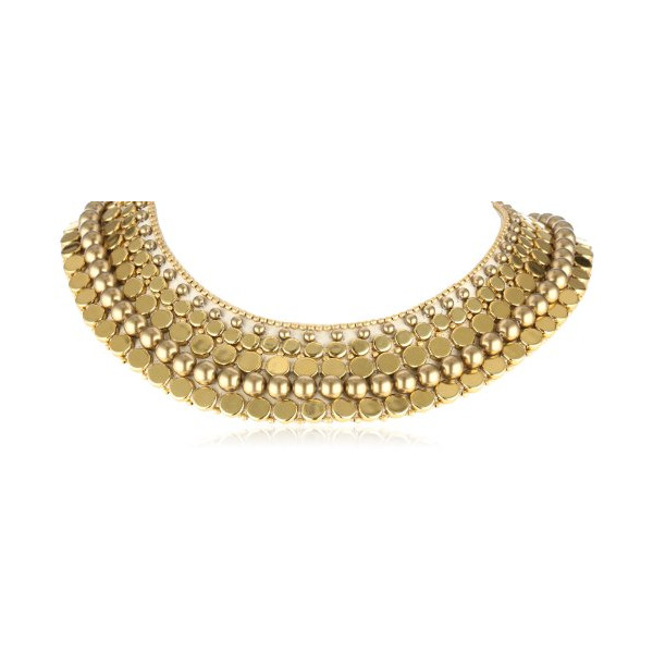 "Fiona Paxton ""Adeline"" Edith Gold Necklace, 3.51"""