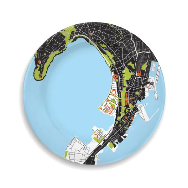 Mumbai City Plate