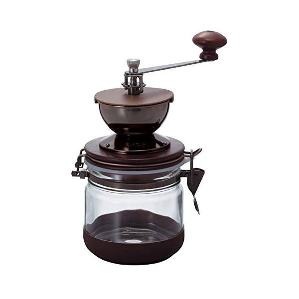 Hario Burr Canister Ceramic Hand Coffee Grinder
