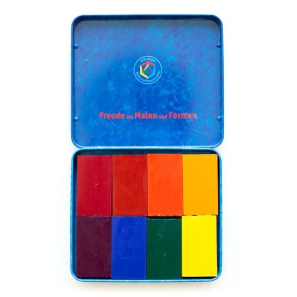 Stockmar Beeswax Block Crayons, Set of 8