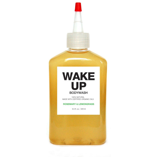 Plant Organic Bodywash, Wake Up, Rosemary and Lemongrass
