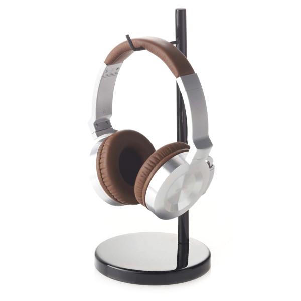 YAMAZAKI home Bautes Round Headphone Stand, Black