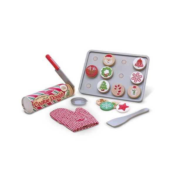 Melissa & Doug Slice and Bake Christmas Cookie Play Set