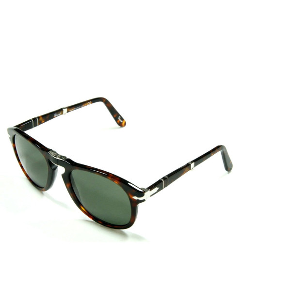 Persol 0714 24/31 Tortoise-red 0714 Aviator Sunglasses Lens Category 3 Size 52
