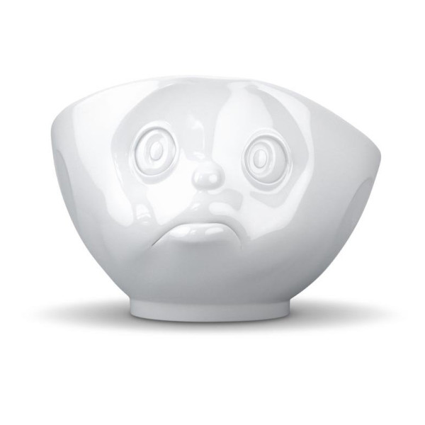 Tassen White Porcelain Face Bowls, Crazy