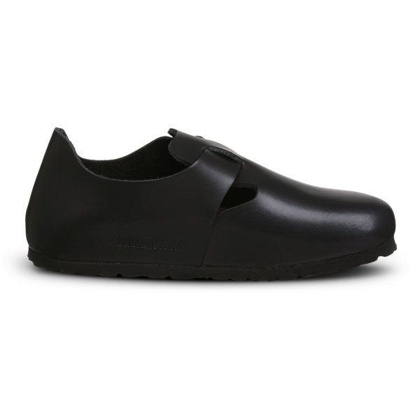 Birkenstock London Clog, Hunter Black Leather