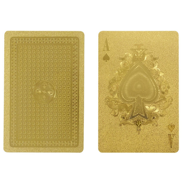 Idea International Gold Deck of Cards