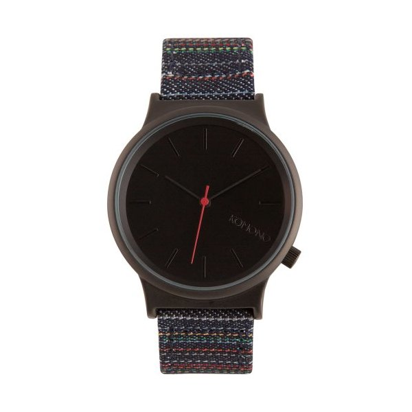 Komono Watch - Wizard Print Series - Stripy Jeans