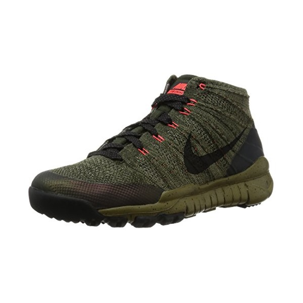 Nike Men's Flyknit Trainer Chukka FSB, SEQUOIA/BLACK, 8 M US