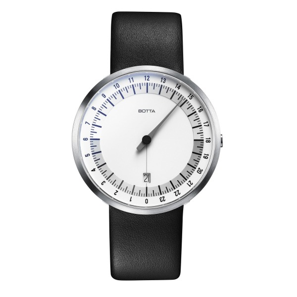 Uno 24 - One Hand Men's Watch by Botta-Design-221010
