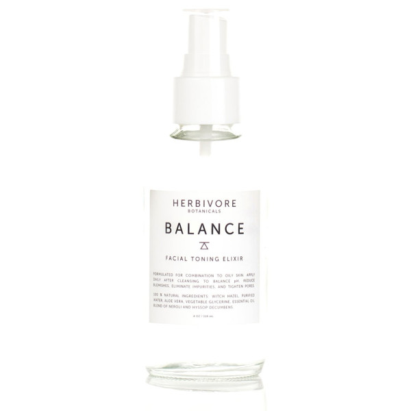Herbivore Botanicals All Natural Balance Facial Toner