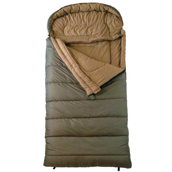 "TETON Sports Celsius XXL -18 Degree C / 0 Degree F Flannel Lined Sleeping Bag (90""x 39"", Green, Left Zip)"