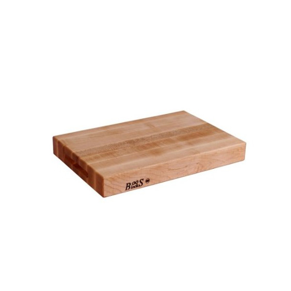 "John Boos Reversible Maple Cutting Board, 18"" x 12"" x 2.25"""