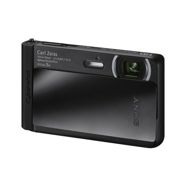 Sony DSC-TX30/B 18 MP Digital Camera with 3.3-Inch OLED Screen