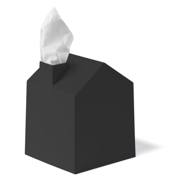 Umbra Casa Tissue Box Cover, Black