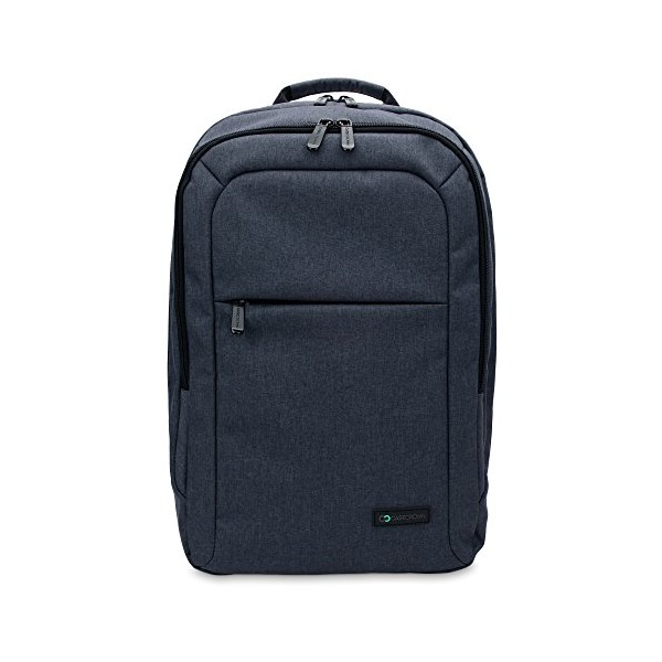 13 Inch MacBook Air / Pro Laptop CaseCrown Waltham Backpack (Denim Navy Blue) w/ Padded Compartment