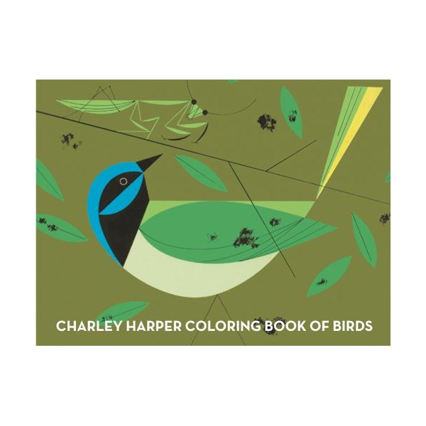 Charley Harper Coloring Book of Birds