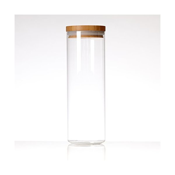 Glassery Airtight Glass Jar, 9-cup, $12.99
