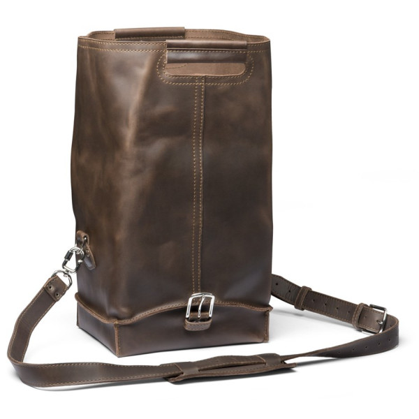 Saddleback Leather Medium Dry Bag, Dark Coffee Brown