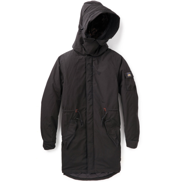 Penfield Men's Hazelton Snorkel Parka, Black