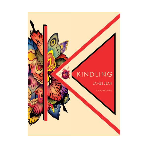 Kindling: 12 Removable Prints