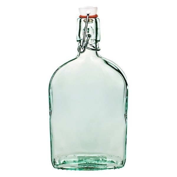 Global Amici Recycled Glass Flask, Set of 3
