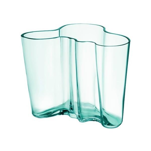 Iittala Aalto Water Green Vase 160mm