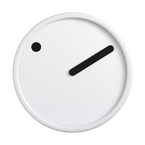 Rosendahl Picto Wall Clock, White 6.25""