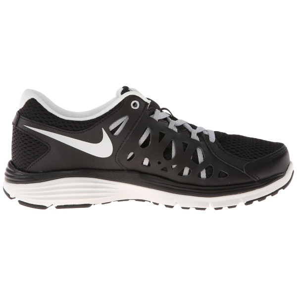 Nike Women's Dual Fusion Run 2 - Black / Metallic Silver-Metallic Summit White