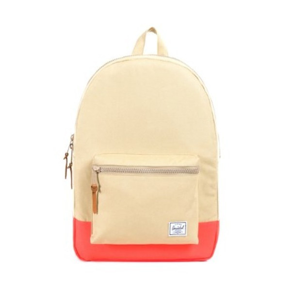 Herschel Supply Co. Settlement Weather Pack, Khaki/Neon Orange