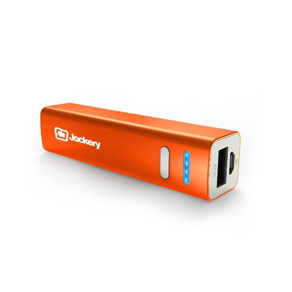 Jackery Mini Premium Ultra-Compact Aluminum Portable Charger 3200mAh External Battery Pack Power Bank for Apple iPhone 5S, 5C, 5, 4S, iPad, Air, Mini, Samsung Galaxy S4, S3, Note, Nexus, LG, HTC, Moto. Portable Battery Charger, Portable Phone Charger, USB
